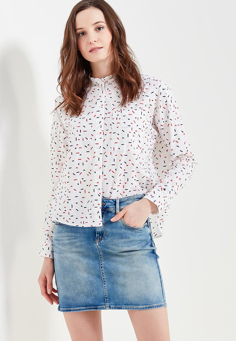 Женские рубашки с длинным рукавом Tommy Jeans DW0DW04173