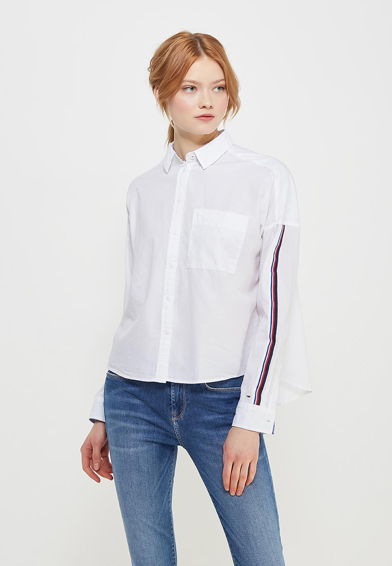 Женские рубашки с длинным рукавом Tommy Jeans DW0DW04174