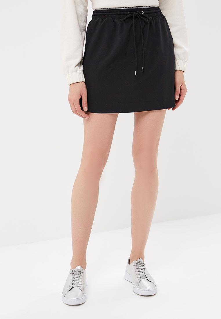 Широкая юбка Tommy Jeans DW0DW04244