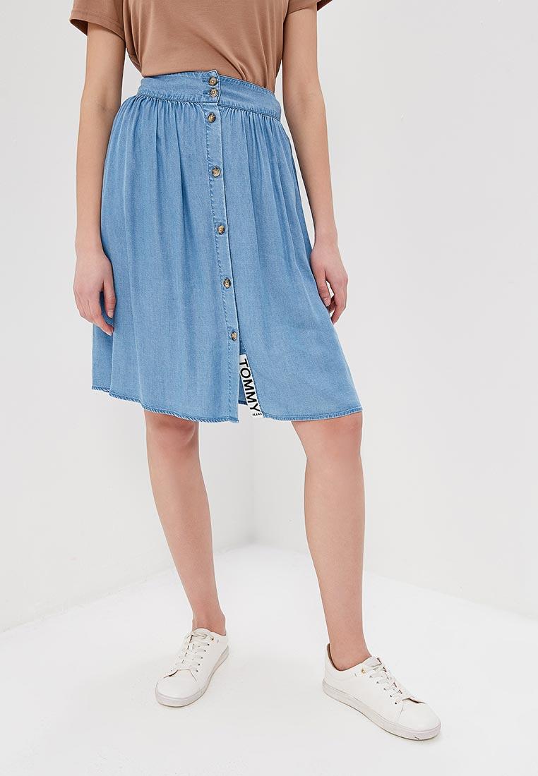 Широкая юбка Tommy Jeans DW0DW04245