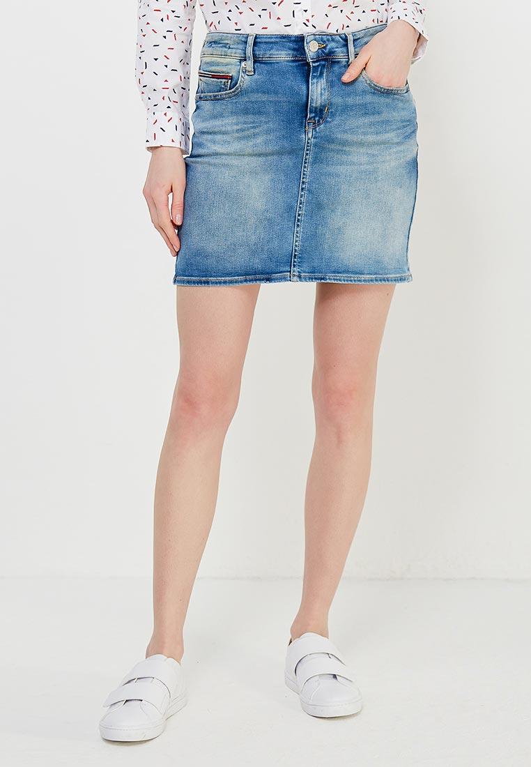 Мини-юбка Tommy Jeans DW0DW03606
