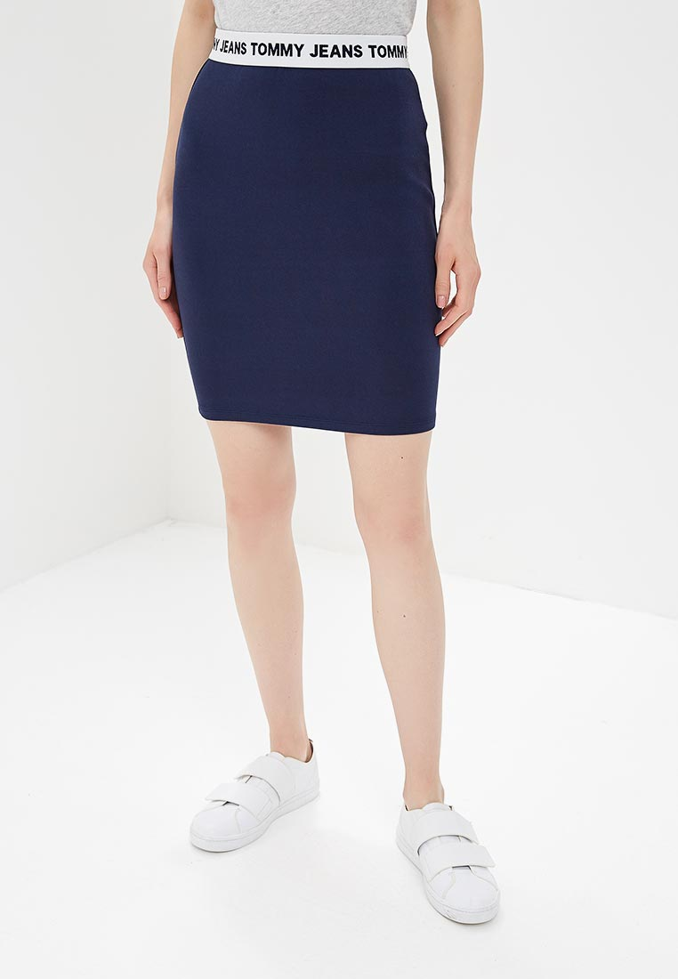 Прямая юбка Tommy Jeans DW0DW04625
