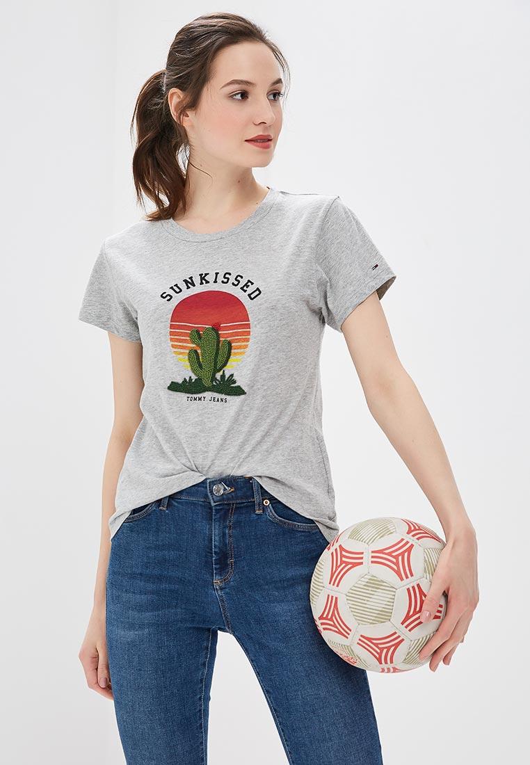 Футболка с коротким рукавом Tommy Jeans DW0DW04671