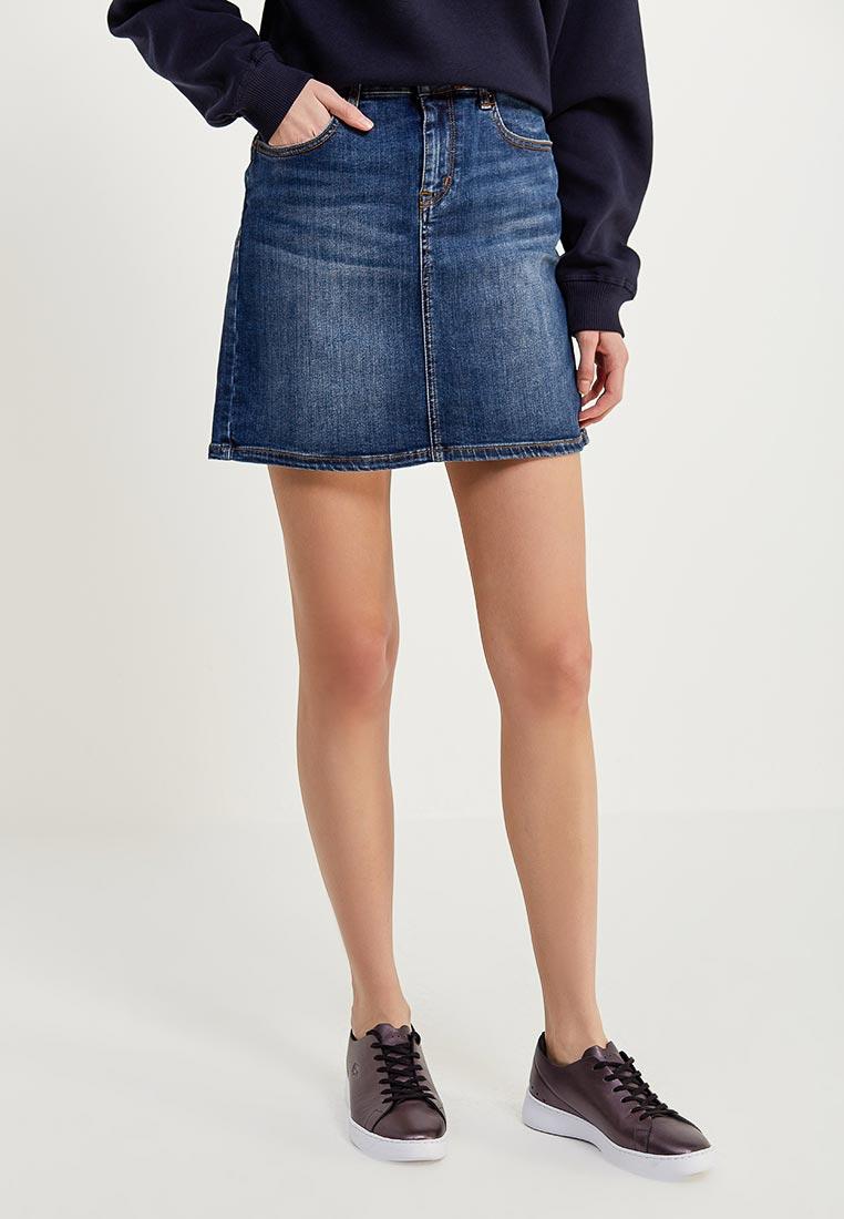 Джинсовая юбка Tommy Jeans DW0DW03600