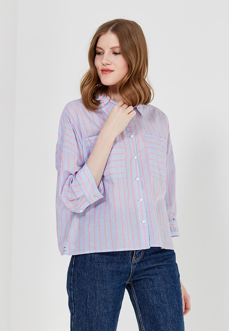 Женские рубашки с длинным рукавом Tommy Jeans DW0DW03636