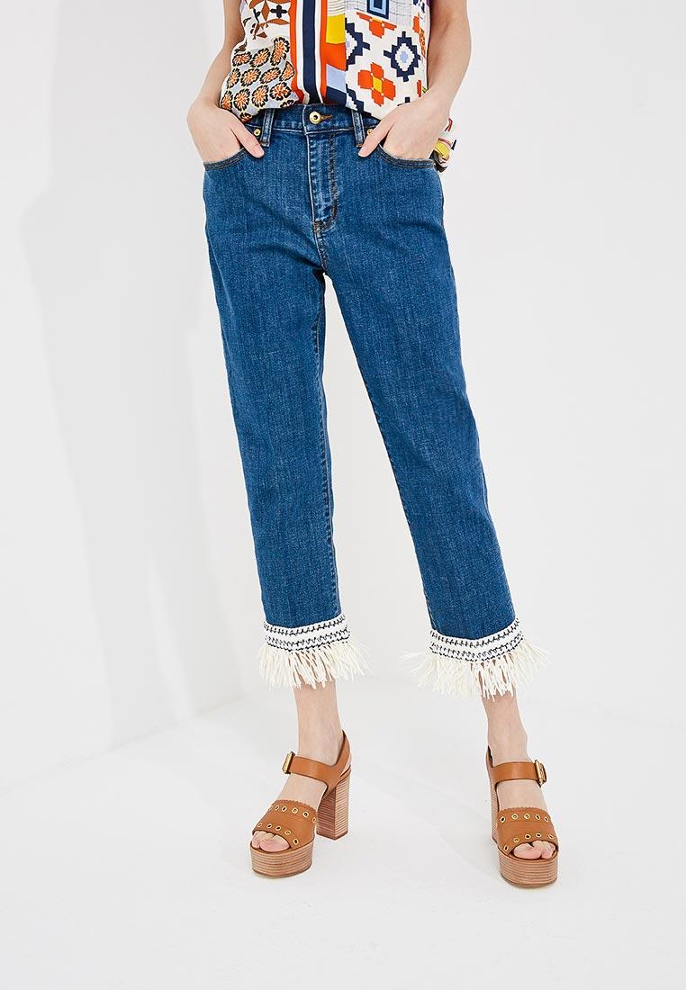Зауженные джинсы Tory Burch 46325