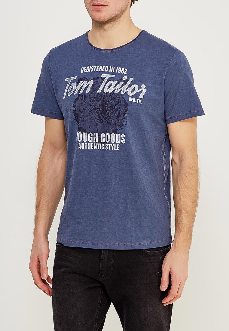 Футболка с коротким рукавом Tom Tailor (Том Тейлор) 1055295.09.10