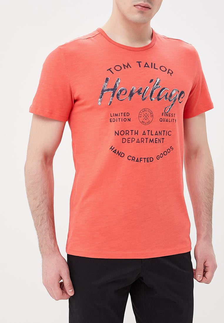 Футболка с коротким рукавом Tom Tailor (Том Тейлор) 1055514.00.10