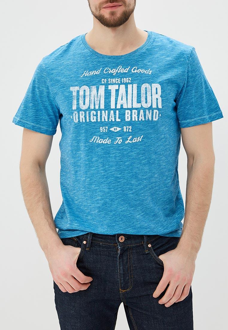 Футболка с коротким рукавом Tom Tailor (Том Тейлор) 1055285.09.10