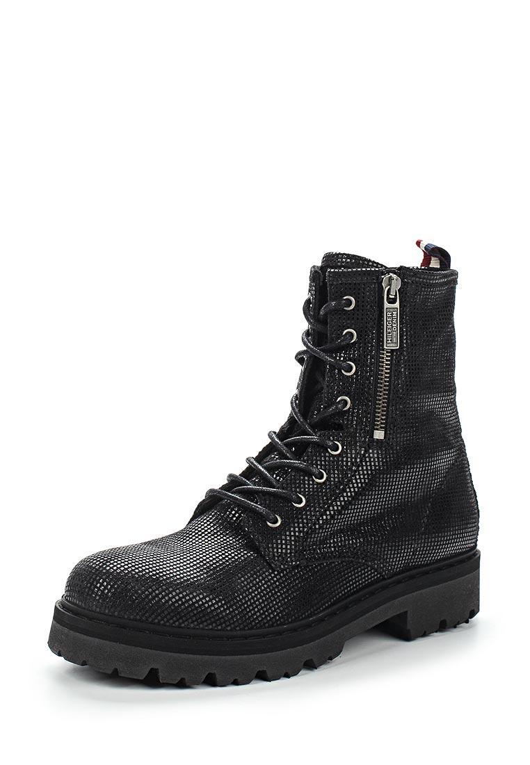 Женские ботинки Tommy Hilfiger (Томми Хилфигер) FW0FW01750