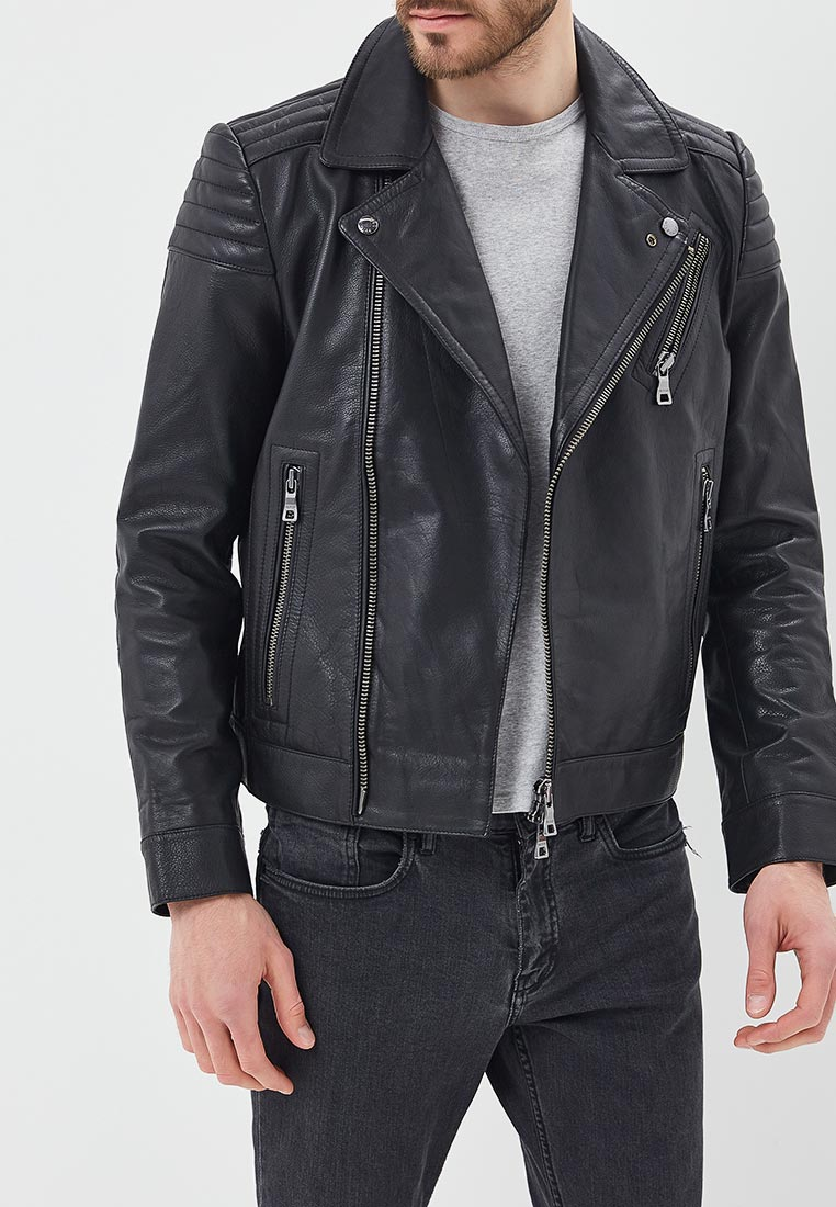 Кожаная куртка Tommy Hilfiger (Томми Хилфигер) MW0MW05052
