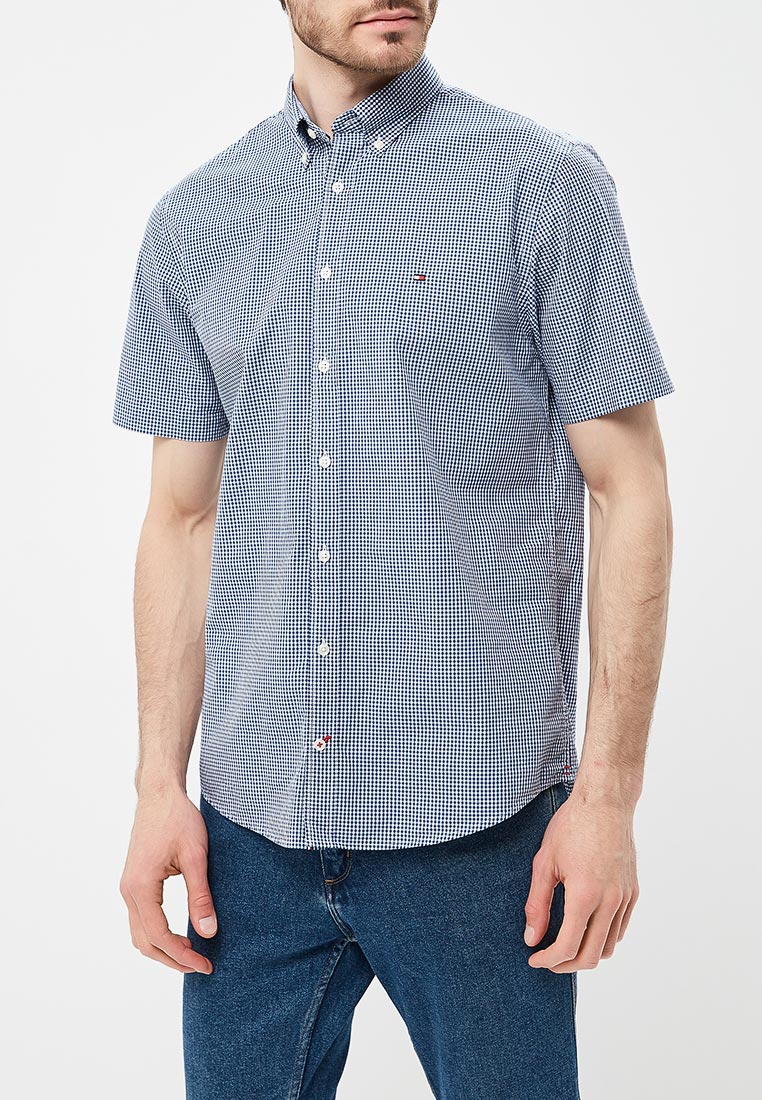 Рубашка с коротким рукавом Tommy Hilfiger (Томми Хилфигер) MW0MW05987