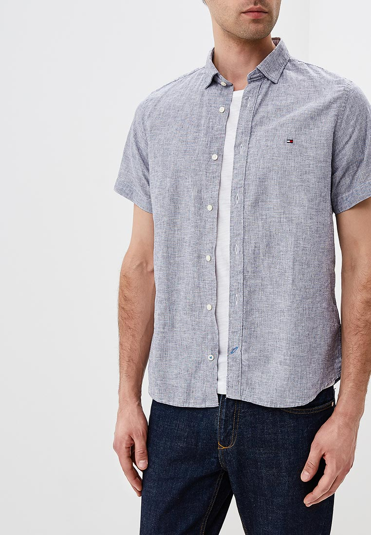Рубашка с коротким рукавом Tommy Hilfiger (Томми Хилфигер) MW0MW06024