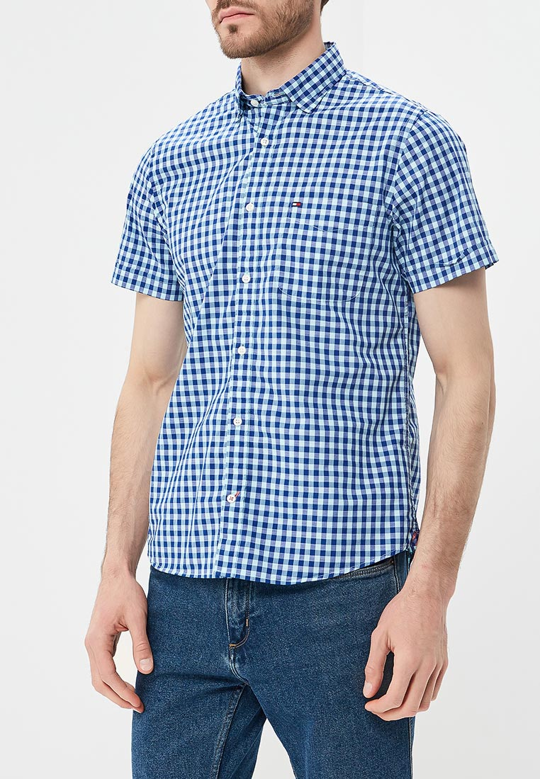 Рубашка с коротким рукавом Tommy Hilfiger (Томми Хилфигер) MW0MW06085