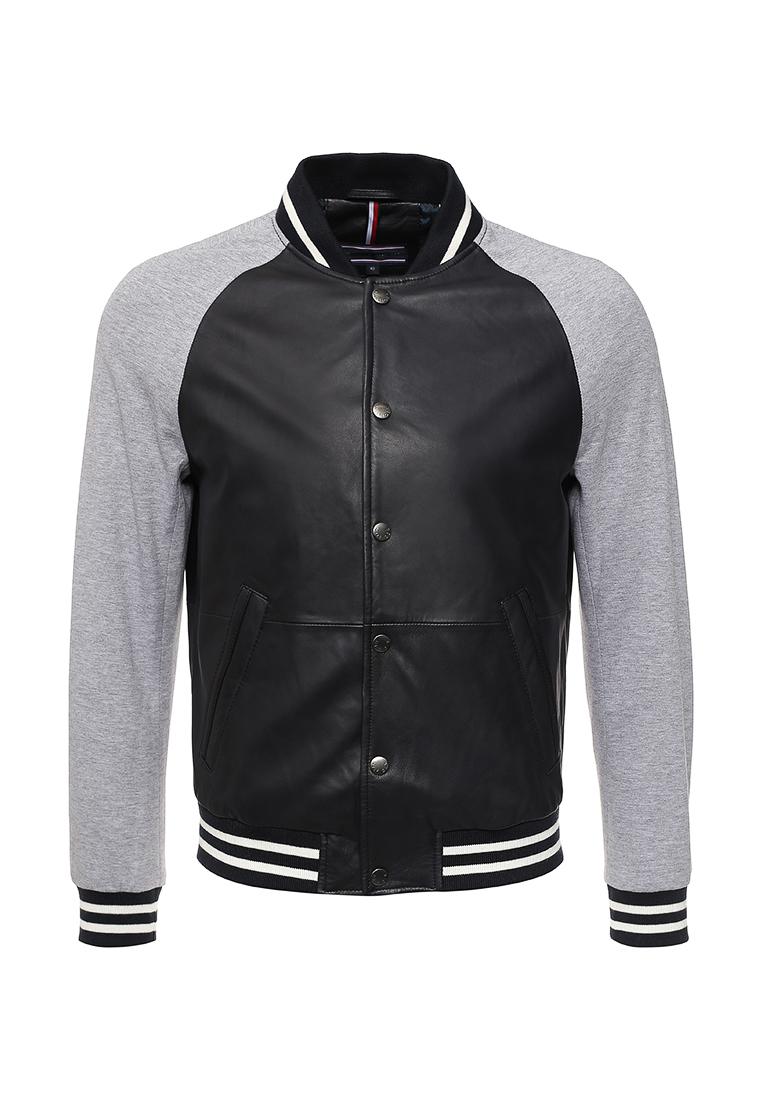 Кожаная куртка Tommy Hilfiger (Томми Хилфигер) MW0MW00072