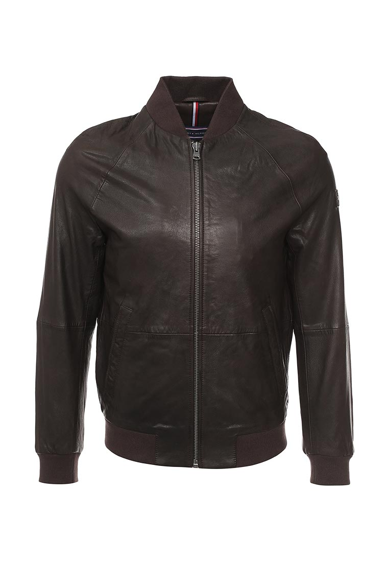 Кожаная куртка Tommy Hilfiger (Томми Хилфигер) MW0MW00298