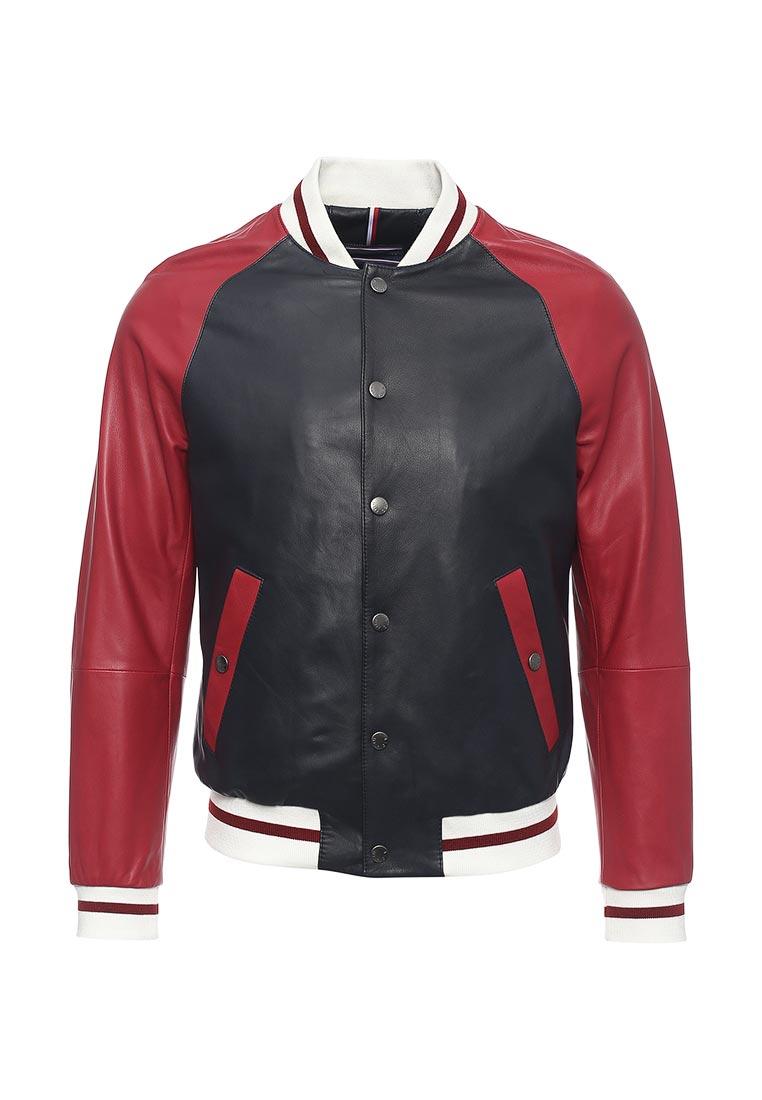 Кожаная куртка Tommy Hilfiger (Томми Хилфигер) MW0MW01026