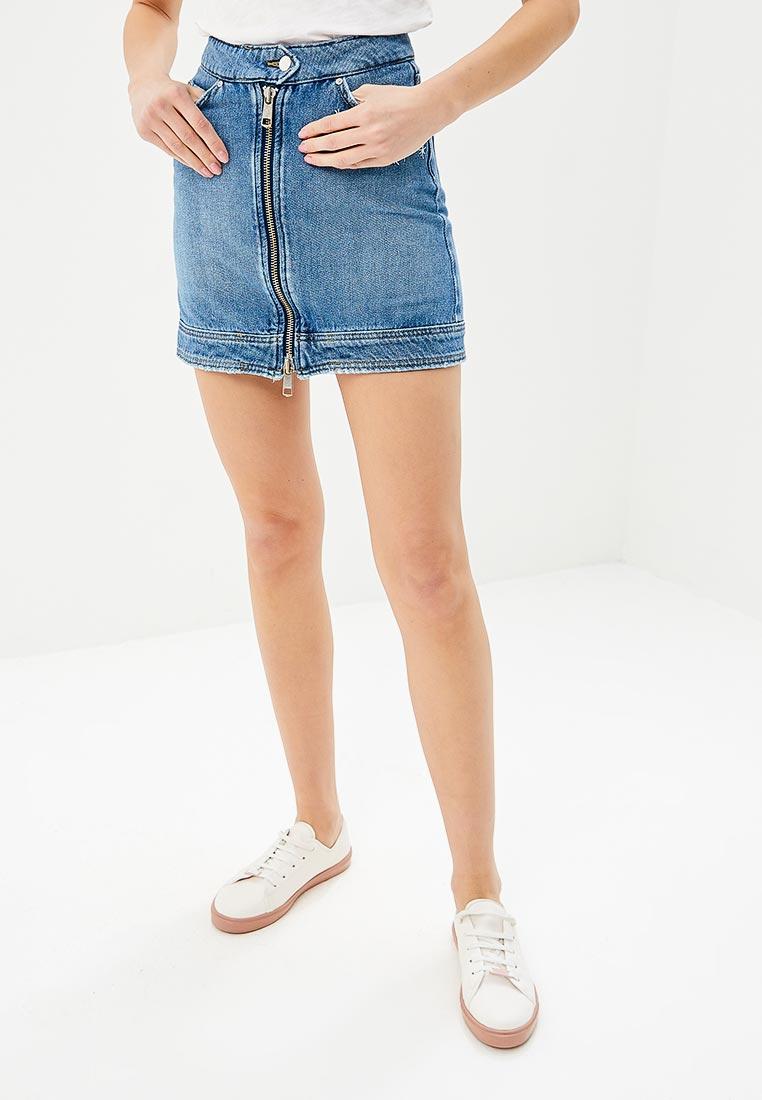 Джинсовая юбка Tommy Hilfiger (Томми Хилфигер) WW0WW21446