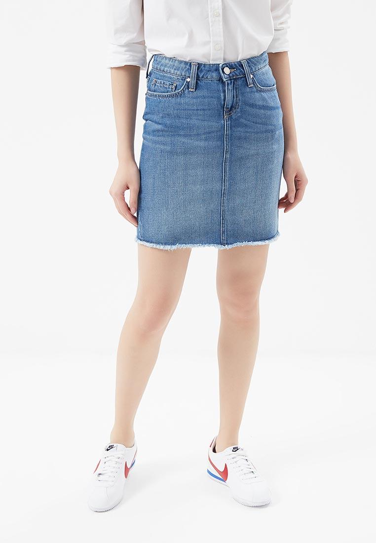 Прямая юбка Tommy Hilfiger (Томми Хилфигер) WW0WW22006