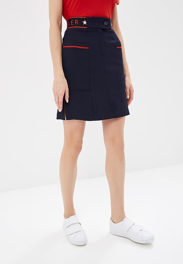 Прямая юбка Tommy Hilfiger (Томми Хилфигер) WW0WW22014