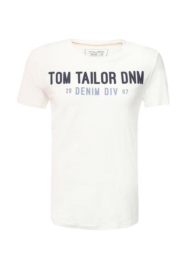 Футболка с коротким рукавом Tom Tailor Denim 1037935.00.12