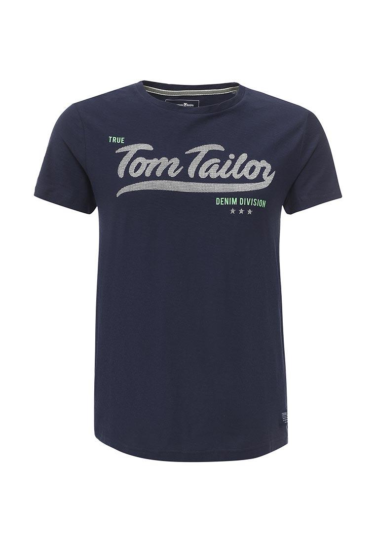 Футболка с коротким рукавом Tom Tailor Denim 1037906.00.12