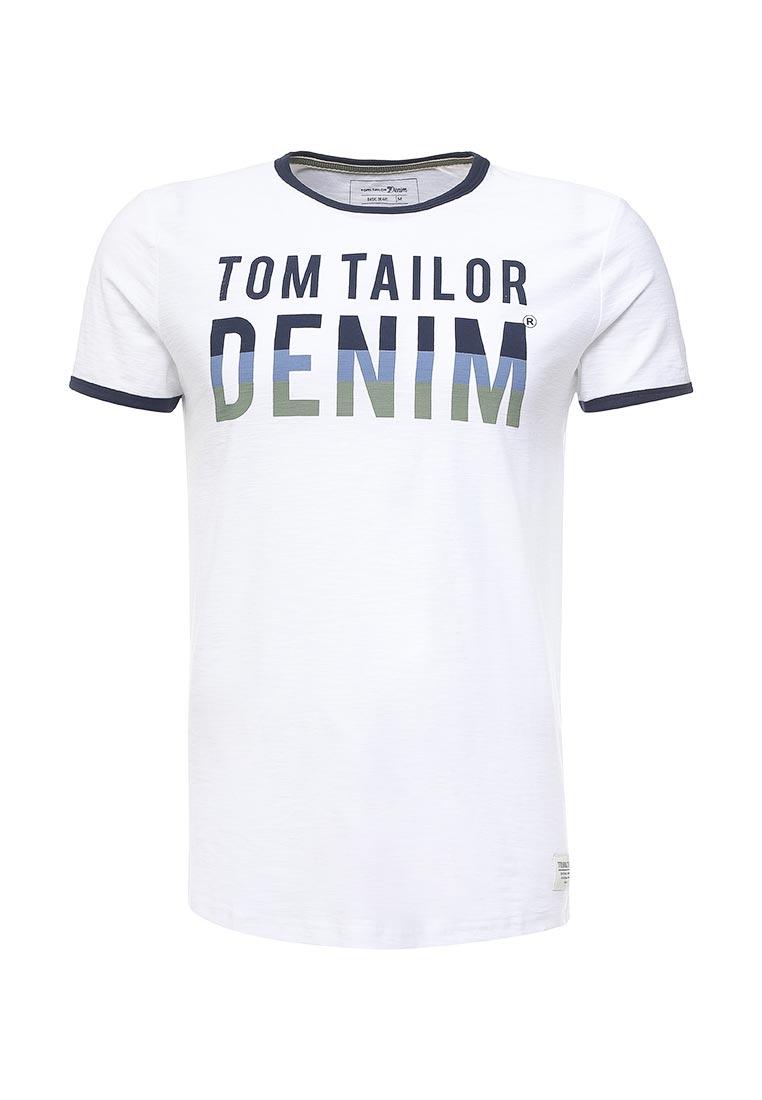 Футболка с коротким рукавом Tom Tailor Denim 1037950.00.12