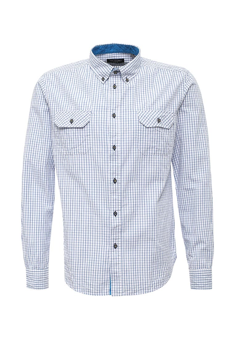 Рубашка с коротким рукавом Top Secret (Топ Сикрет) SKL1771BI