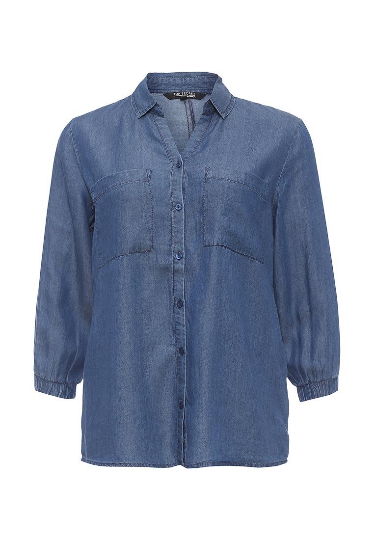 Женские джинсовые рубашки Top Secret (Топ Сикрет) SBD0682NI