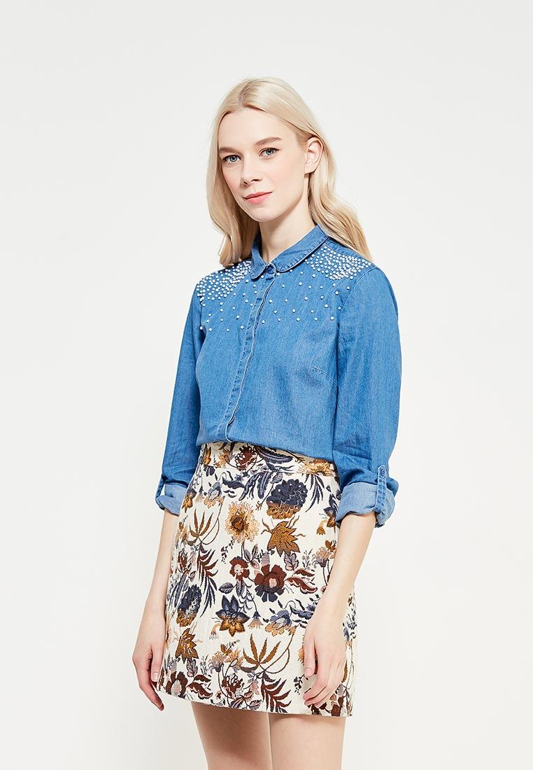 Женские джинсовые рубашки Top Secret (Топ Сикрет) SKL2427NI