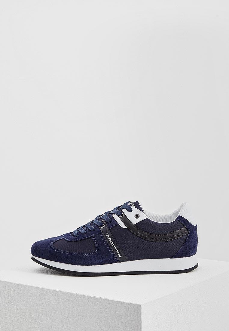 Мужские кроссовки TRUSSARDI JEANS (Труссарди Джинс) 77a00068