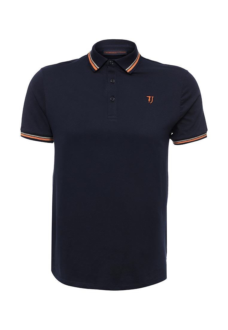 Мужские футболки поло Trussardi Jeans 52T120XX