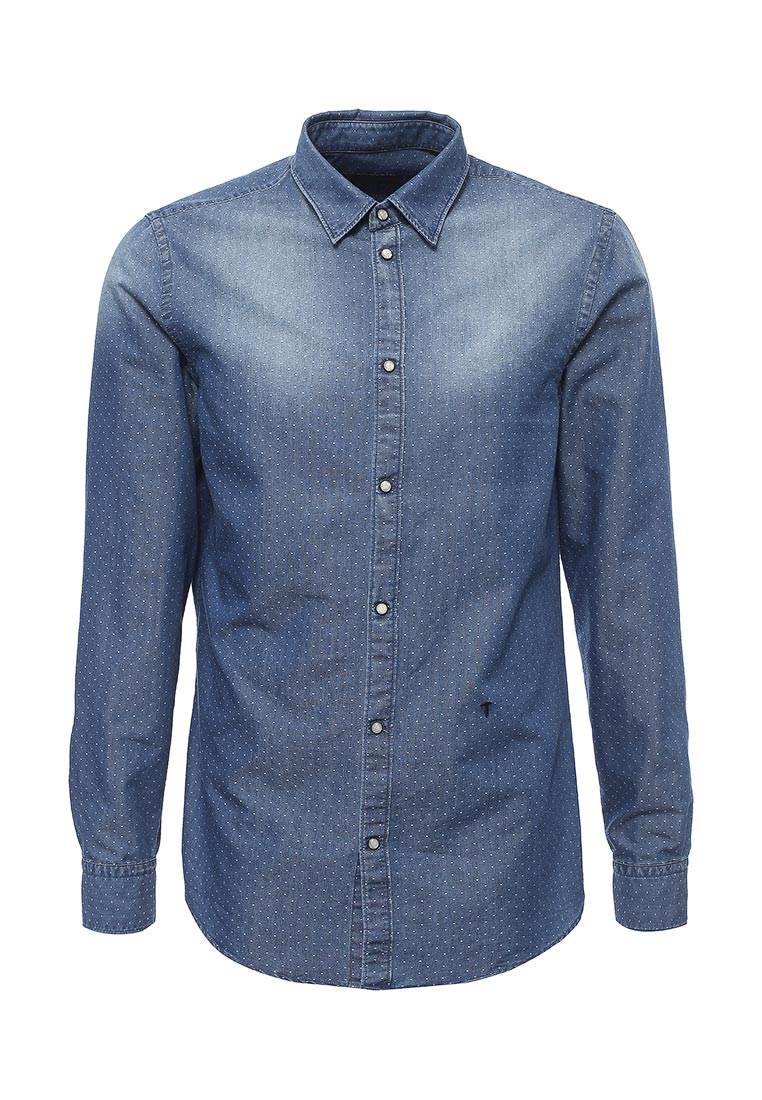Рубашка с длинным рукавом TRUSSARDI JEANS (Труссарди Джинс) 52c304