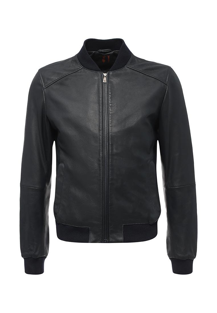 Кожаная куртка TRUSSARDI JEANS (Труссарди Джинс) 52s00009