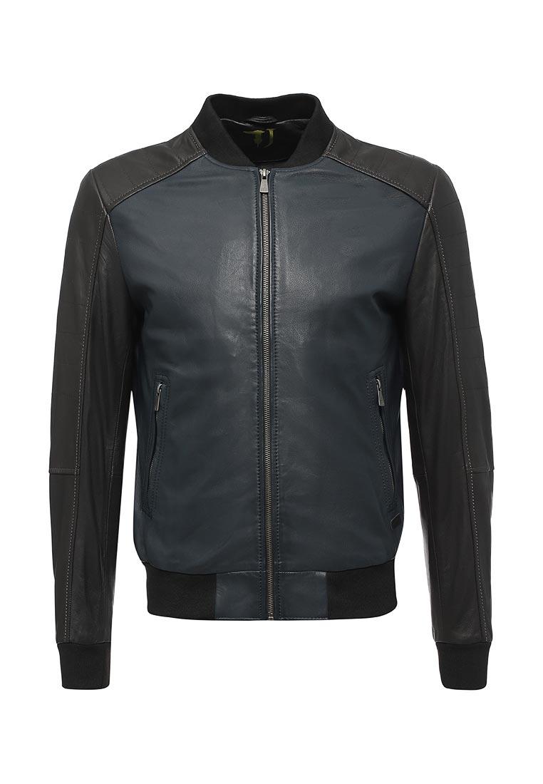 Кожаная куртка TRUSSARDI JEANS (Труссарди Джинс) 52s00013