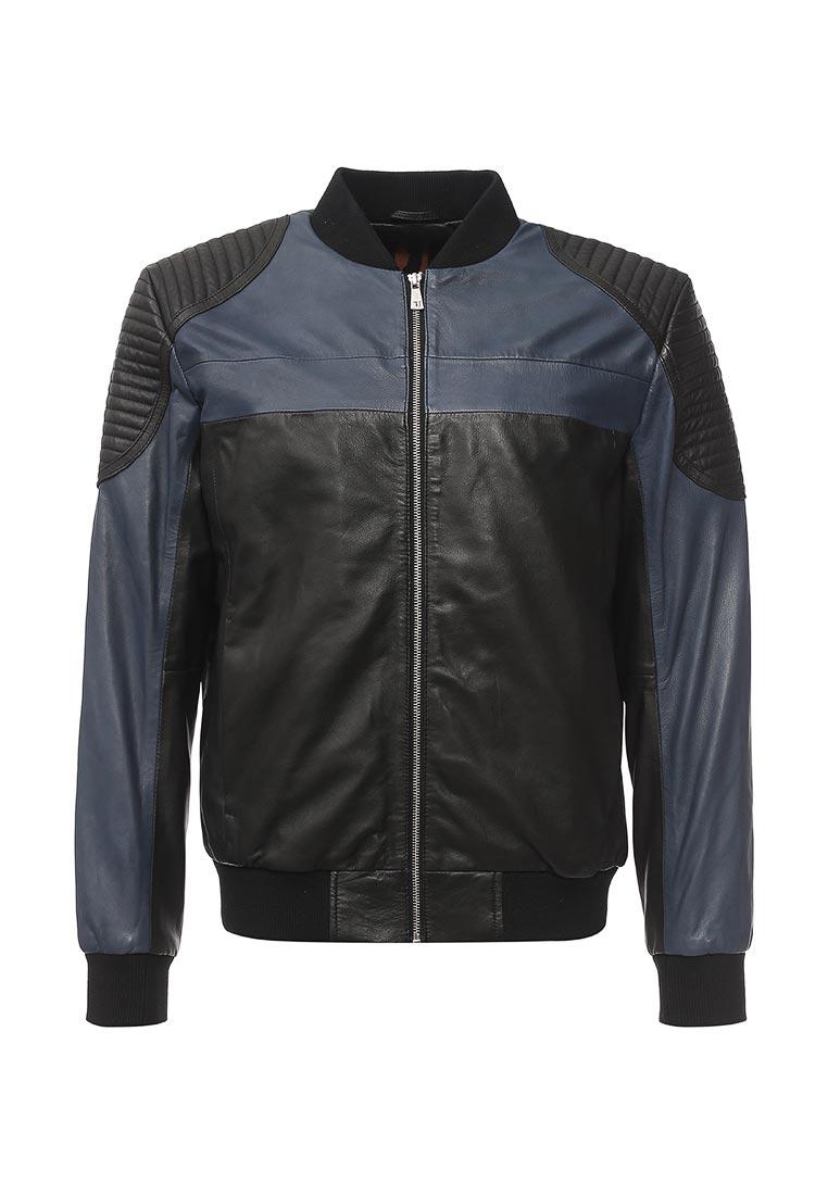 Кожаная куртка TRUSSARDI JEANS (Труссарди Джинс) 52s00015