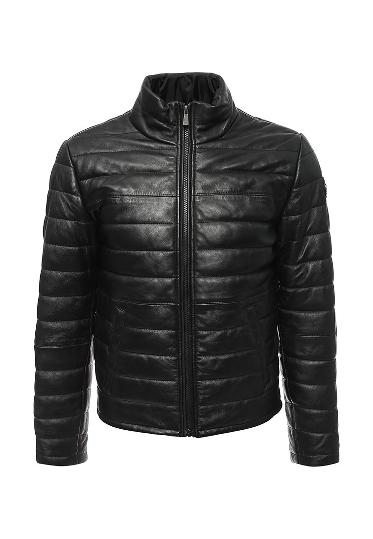 Кожаная куртка TRUSSARDI JEANS (Труссарди Джинс) 52s00000