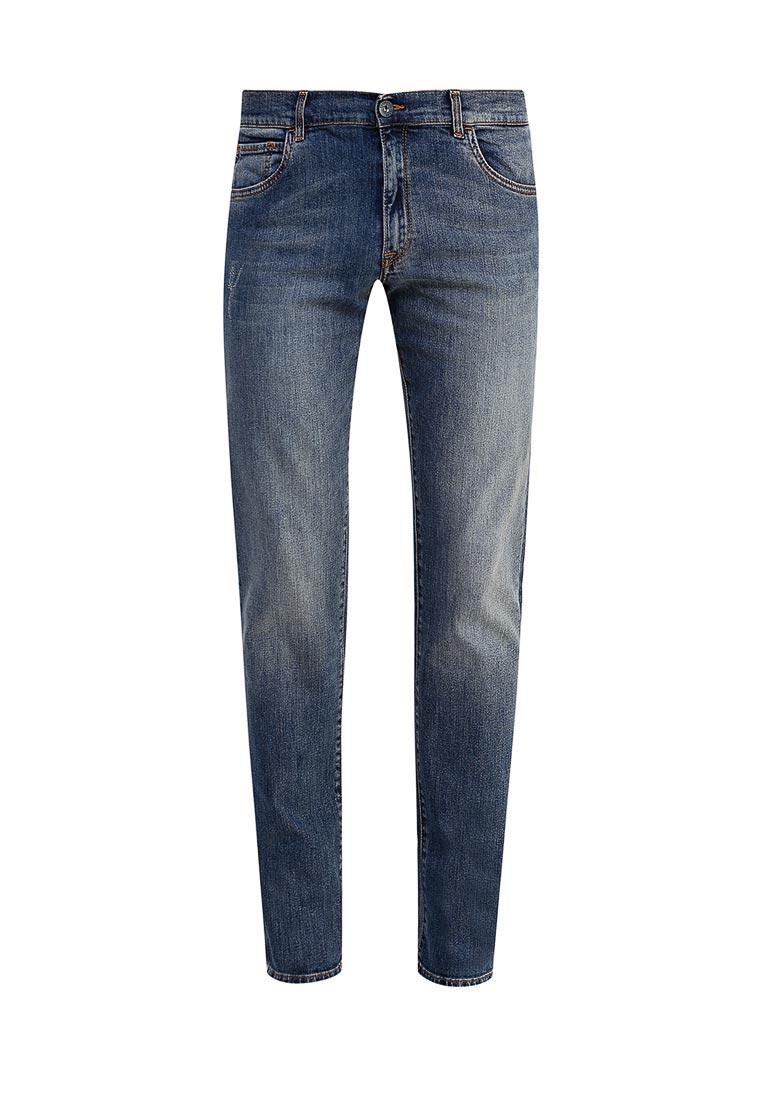Зауженные джинсы TRUSSARDI JEANS (Труссарди Джинс) 52j00009