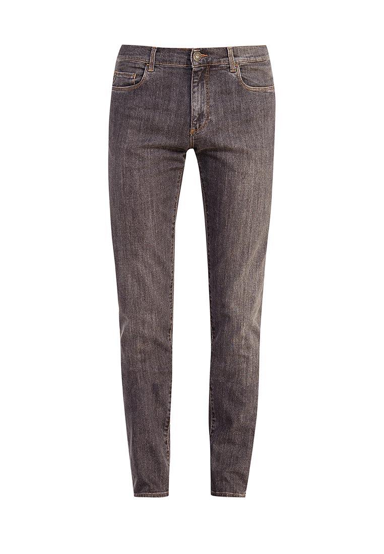 Мужские прямые джинсы TRUSSARDI JEANS (Труссарди Джинс) 52J00000