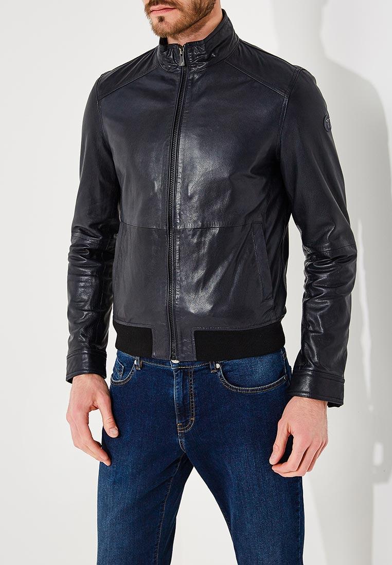 Кожаная куртка TRUSSARDI JEANS (Труссарди Джинс) 52s00176