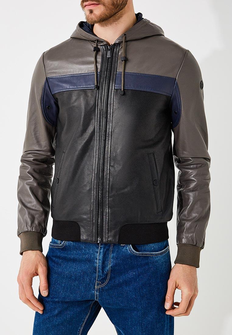 Кожаная куртка TRUSSARDI JEANS (Труссарди Джинс) 52s00143