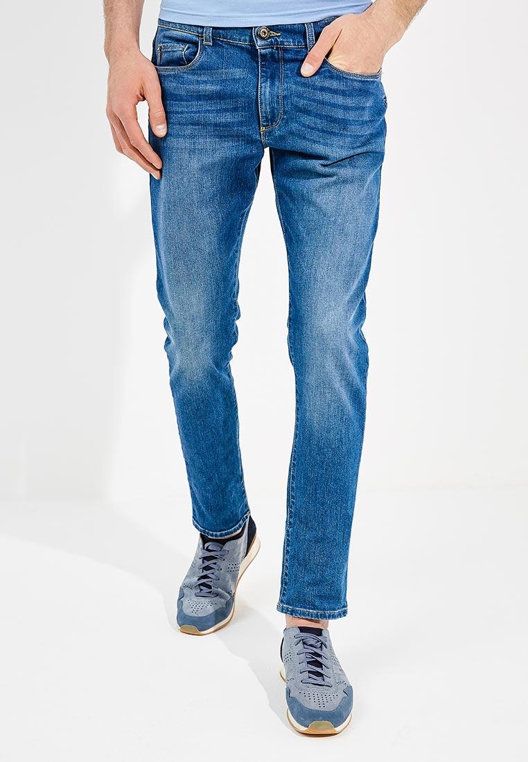 Зауженные джинсы TRUSSARDI JEANS (Труссарди Джинс) 52j00008