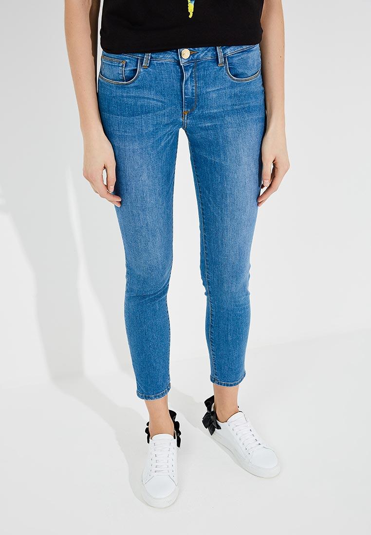 Зауженные джинсы TRUSSARDI JEANS (Труссарди Джинс) 56J00008