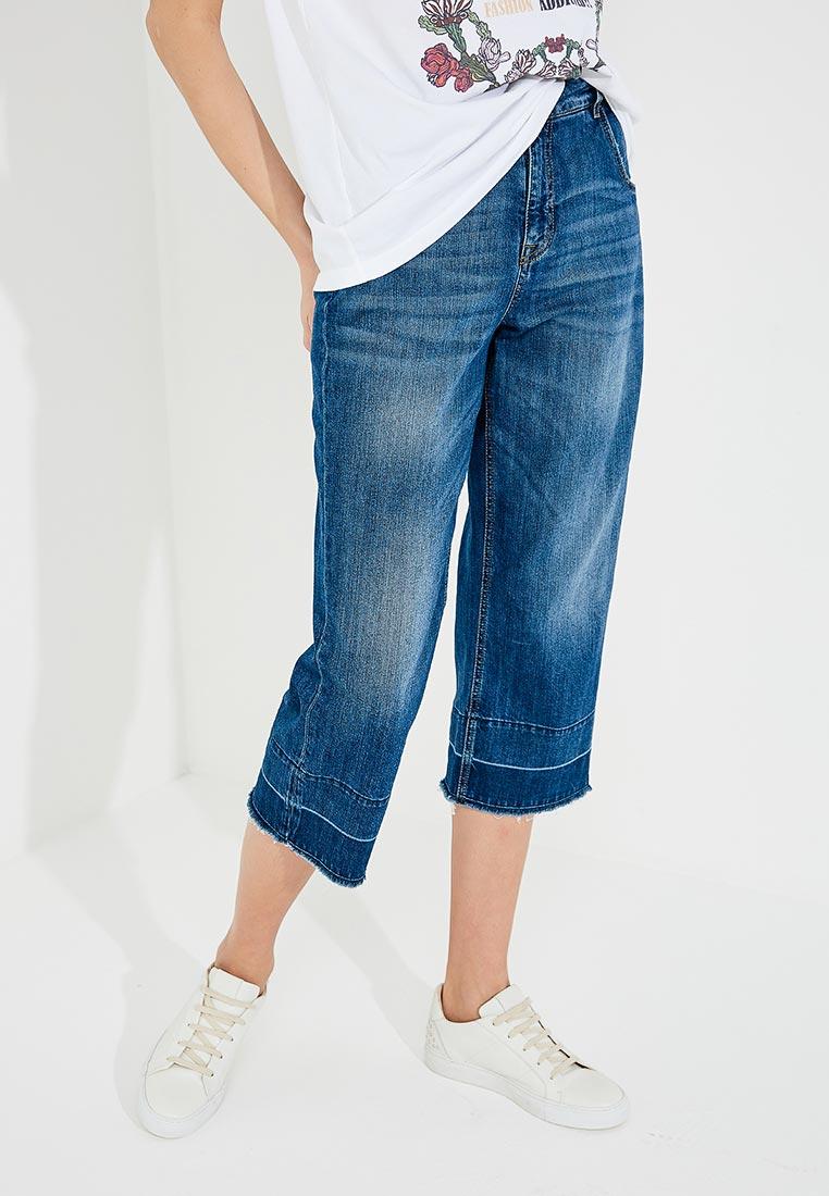 Широкие и расклешенные джинсы TRUSSARDI JEANS (Труссарди Джинс) 56J00055