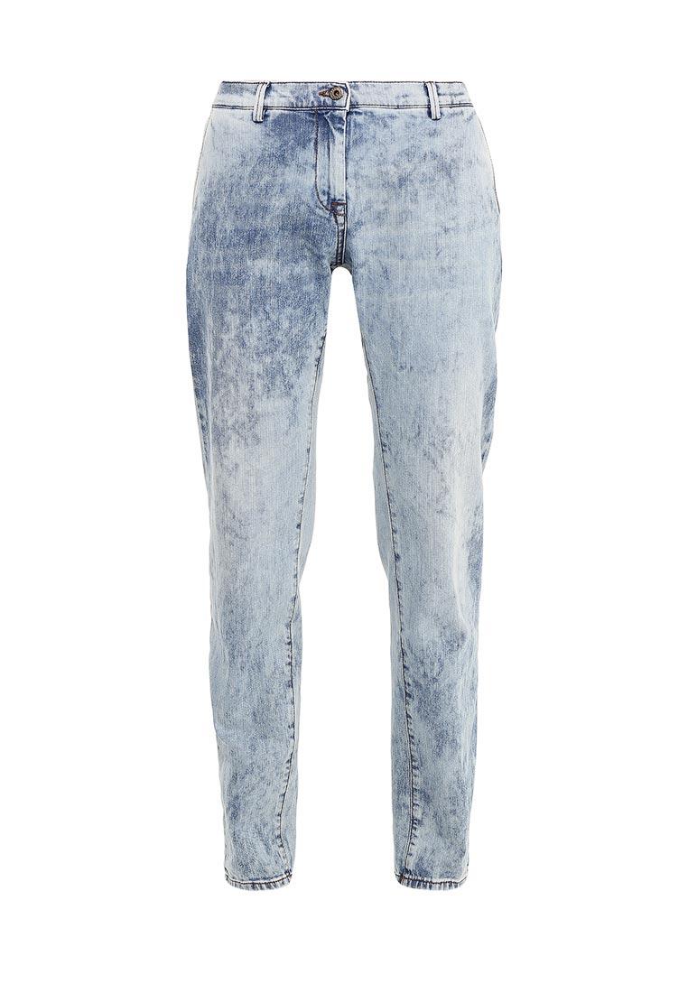 Прямые джинсы TRUSSARDI JEANS (Труссарди Джинс) 56P04P