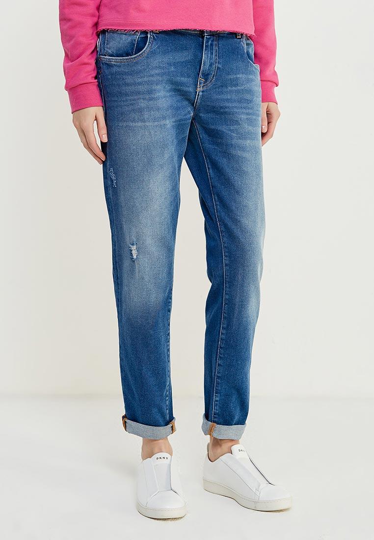 Зауженные джинсы TRUSSARDI JEANS (Труссарди Джинс) 56J00010