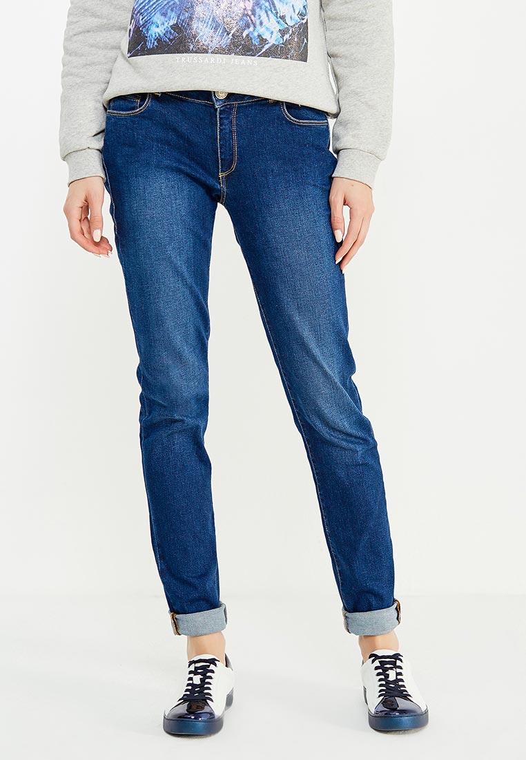 Зауженные джинсы TRUSSARDI JEANS (Труссарди Джинс) 56J00001