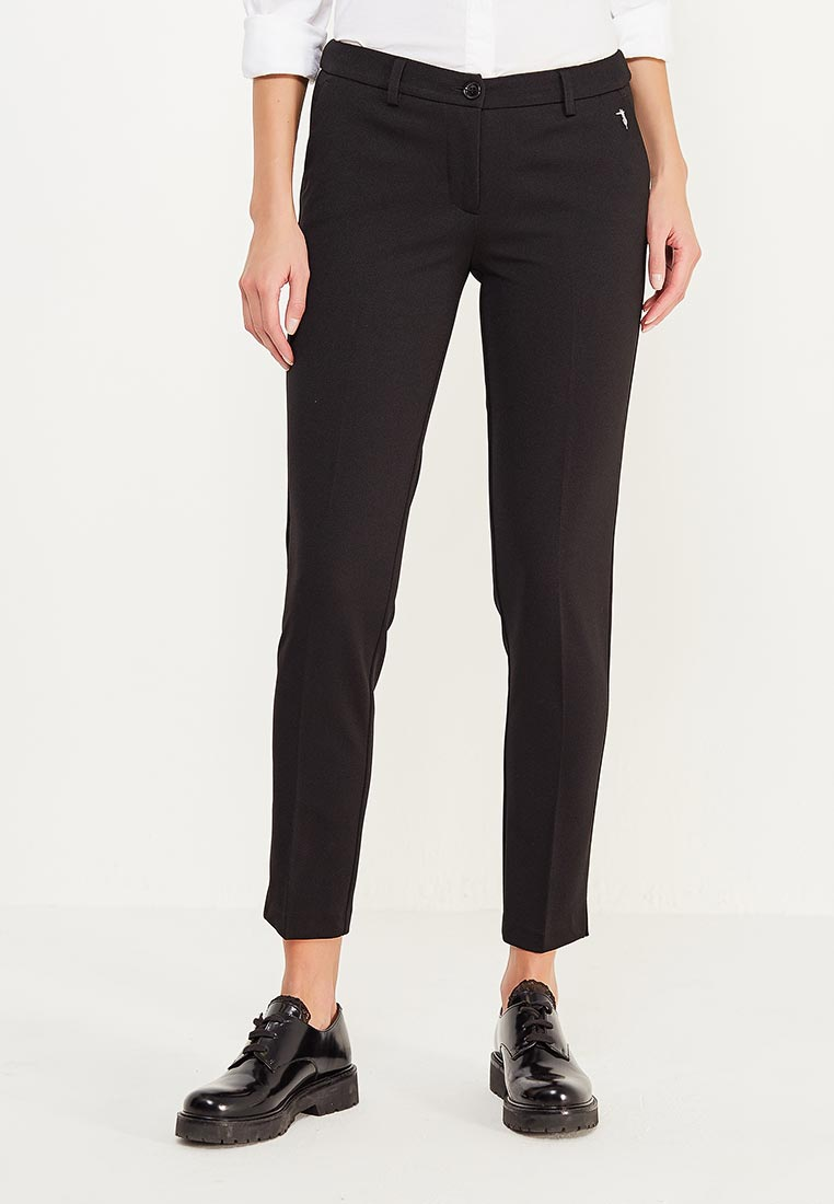 Женские классические брюки TRUSSARDI JEANS (Труссарди Джинс) 56P00031