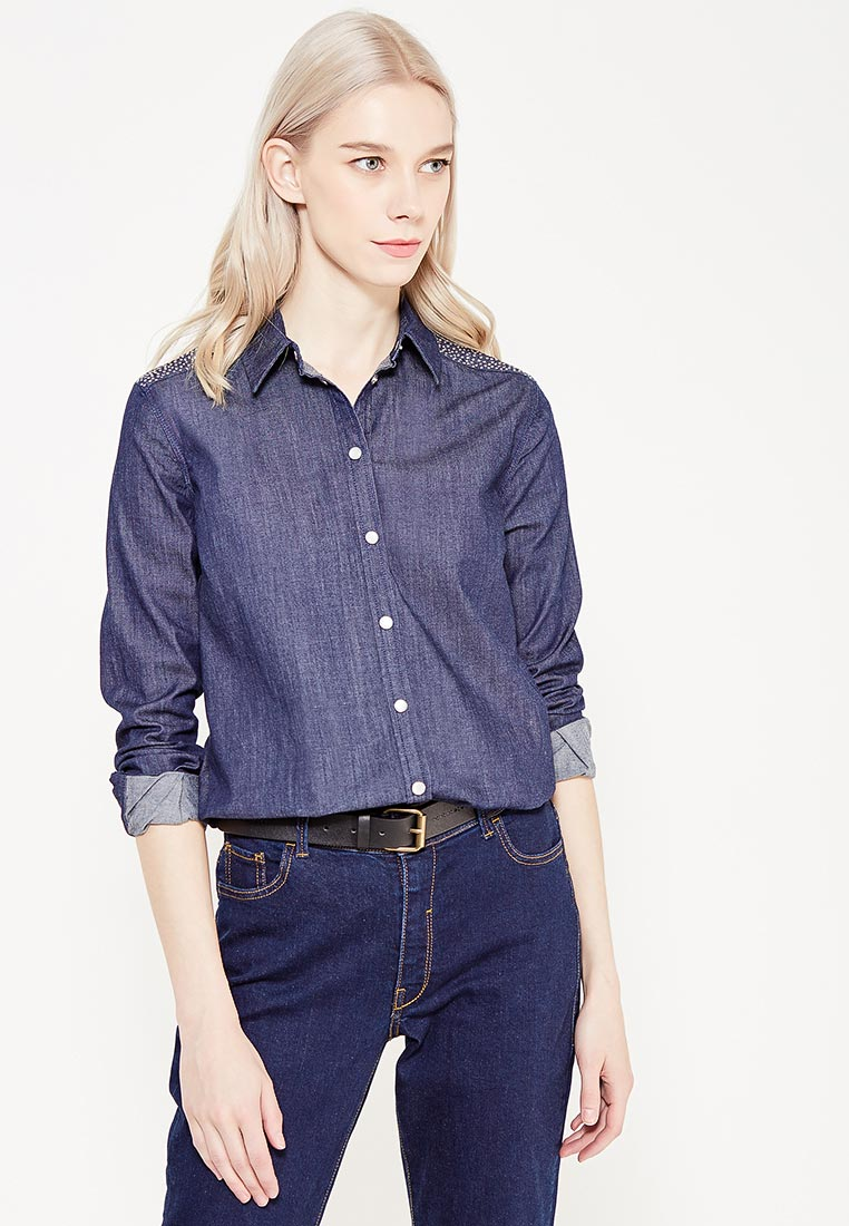 Женские рубашки с длинным рукавом TRUSSARDI JEANS (Труссарди Джинс) 56C00002