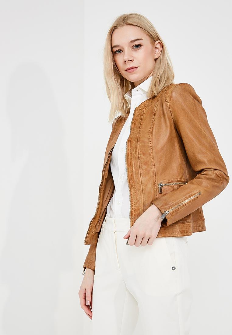 Кожаная куртка TRUSSARDI JEANS (Труссарди Джинс) 56S00188